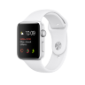 Часы Apple Watch Series 2 42mm Aluminum Case with Sport Band White