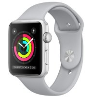 Часы Apple Watch Series 3 42mm Aluminum Case with Sport Band Silver
