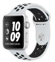 Часы Apple Watch Series 3 42mm Aluminum Case with Nike Sport Band Silver