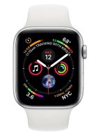 Часы Apple Watch Series 4 GPS 44mm Aluminum Case with Sport Band White