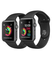 Часы Apple Watch Series 2 42mm Aluminum Case with Sport Band Black