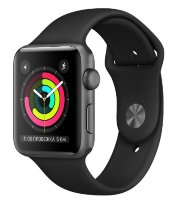 Часы Apple Watch Series 3 38mm Aluminum Case with Sport Band Black