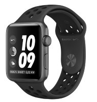 Часы Apple Watch Series 3 38mm Aluminum Case with Nike Sport Band Black